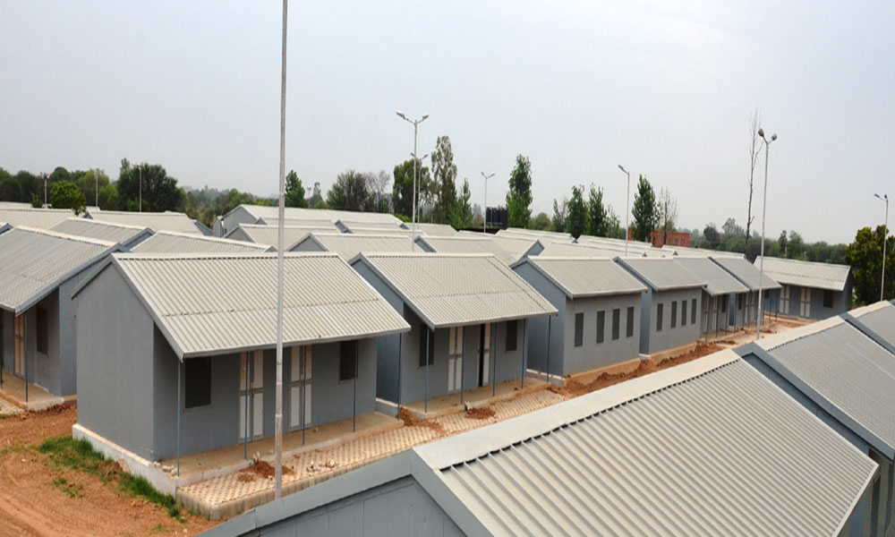 temporary civil houses