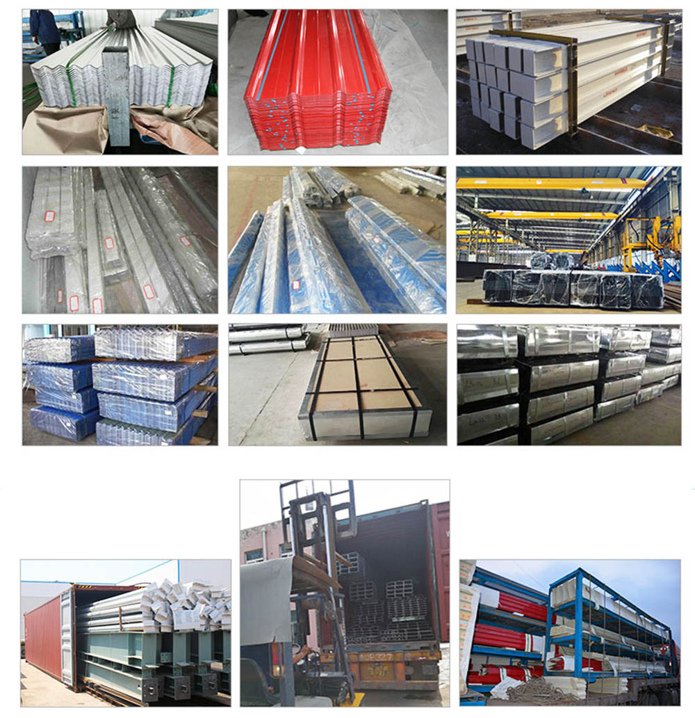 Packing of steel structure