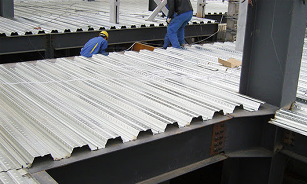 high rib decking sheet