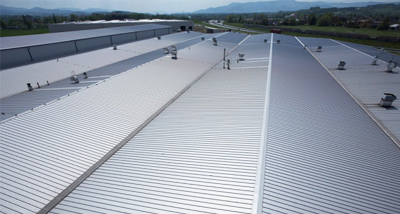Insulated roof panels system