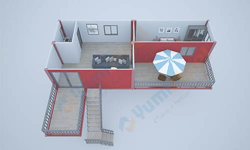 customized container house design