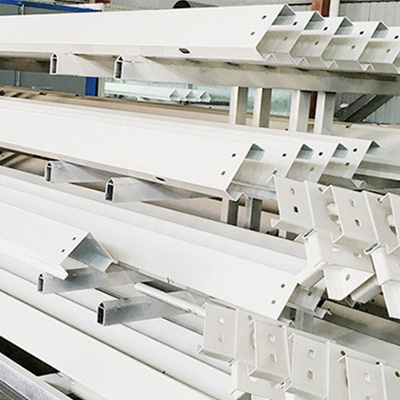 High strength steel beams for container house