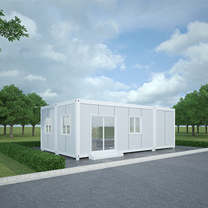 White color container house