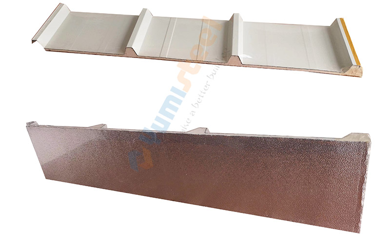 10mm PIR roof sandwich panels details