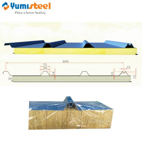 structural sandwich panel roof