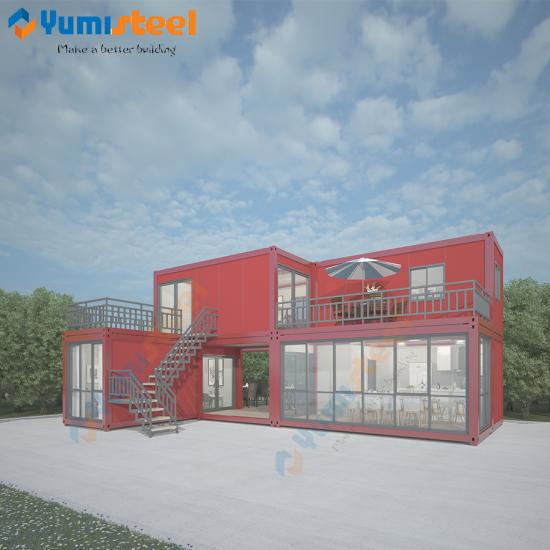 Modern container villa house