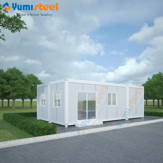 Container living house for vacation