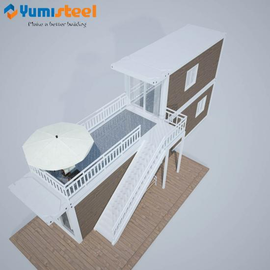 Designed prefabricated container house