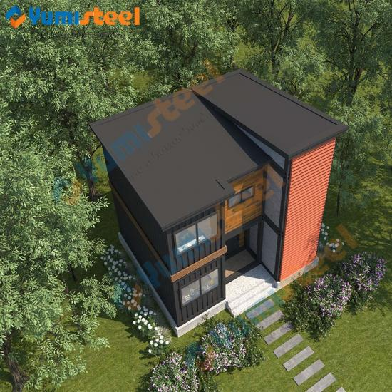 Luxury container villa house