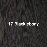 17 Black ebony